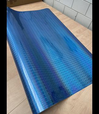 PREMIUMVINYLS 8.5meter X 1.52meter Rainbow Blauw