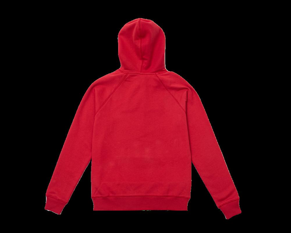 Bruut Varsity Teddy Logo Hoodie True Red
