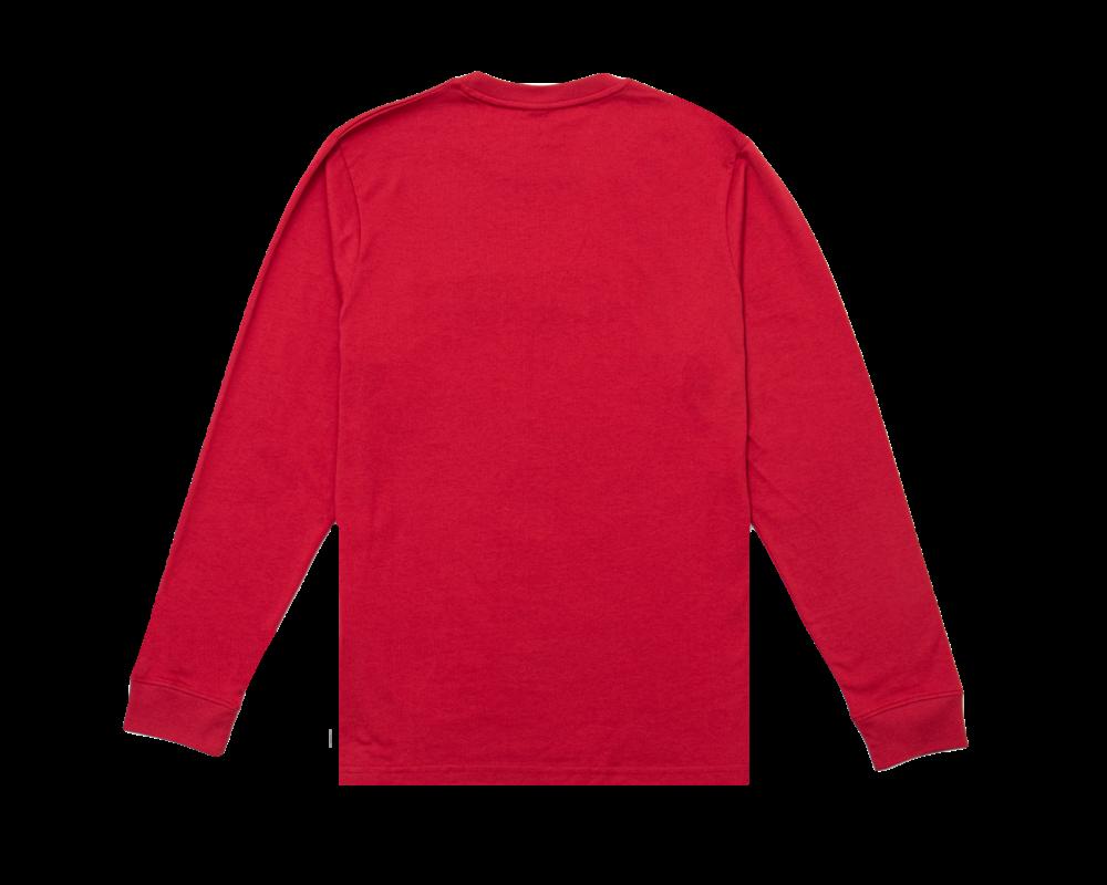 Bruut Varsity Teddy Logo Longsleeve True Red