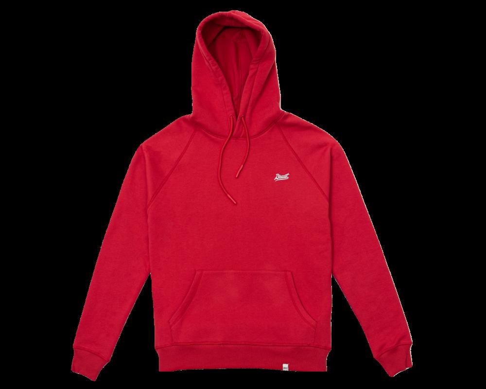 Bruut Essential Hoodie True Red