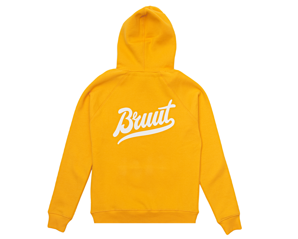 Bruut Essential Hoodie Saffron