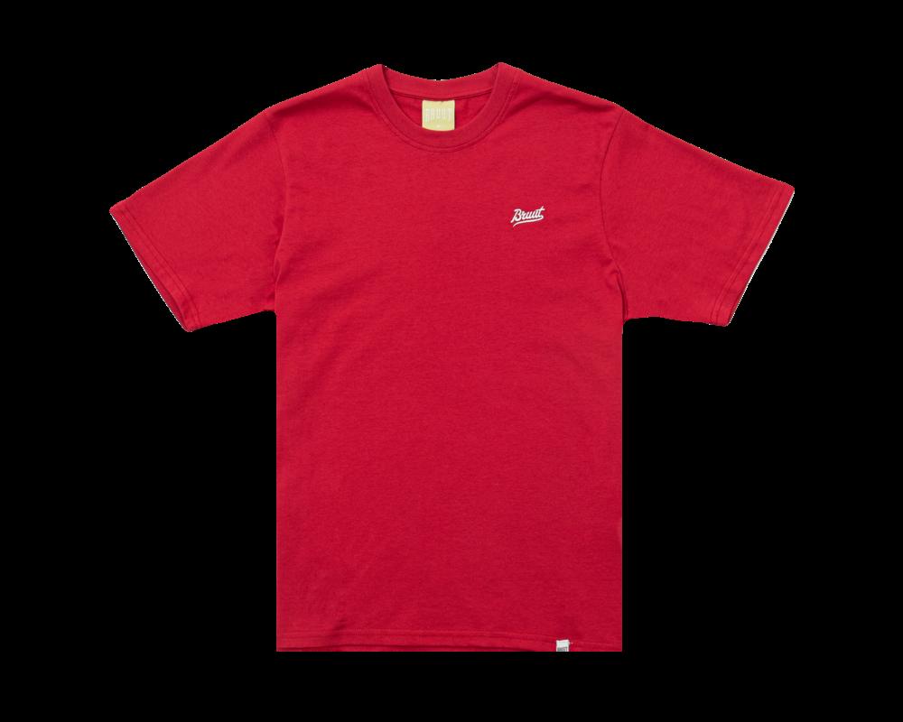 Bruut Essential T-Shirt True Red