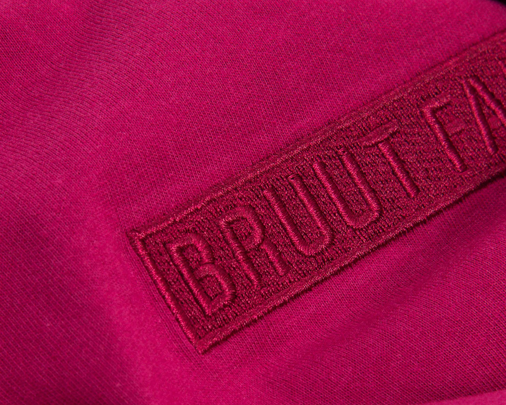 Bruut Box Logo Dark Burgundy