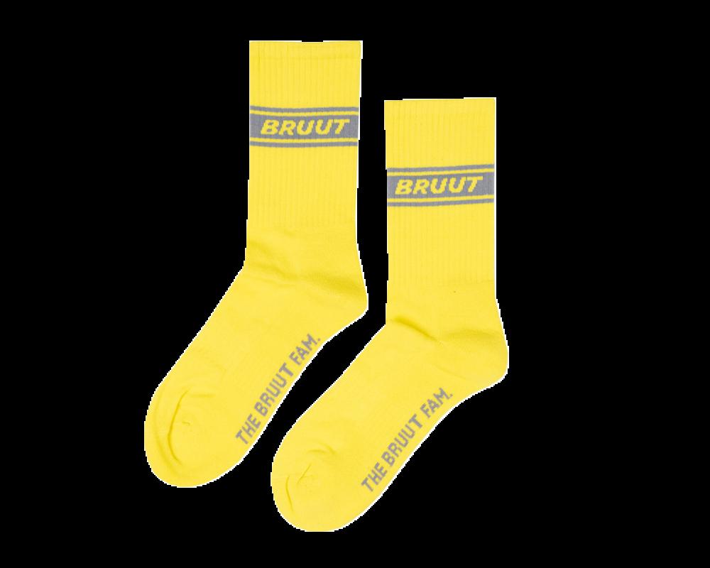 Bruut Retro Sock Neon
