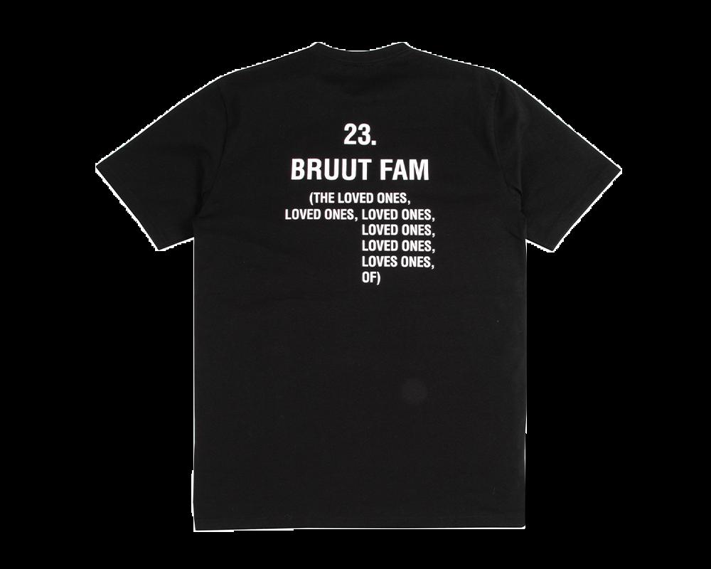 Bruut Loved Ones Tee Black Ink