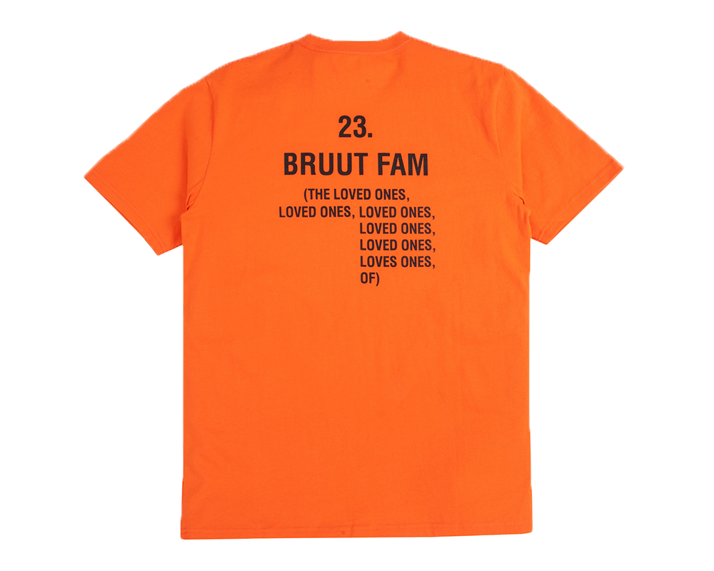 Bruut Loved Ones Tee Orange Dragon