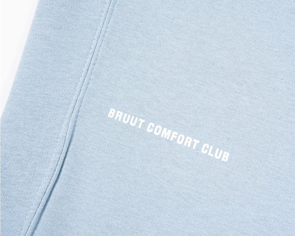 Bruut Comfort Club Hoodie Ash Blue