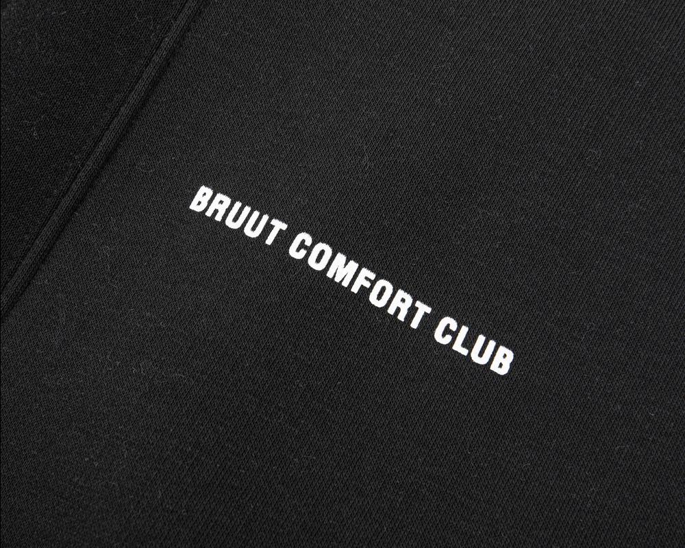 Bruut Comfort Club Crewneck Black