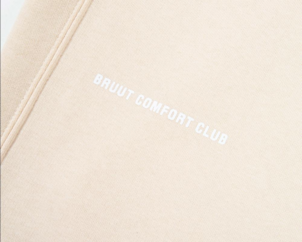 Bruut Comfort Club Hoodie Sandshell