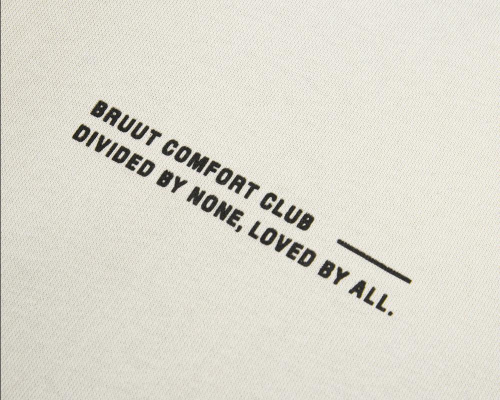 Bruut Comfort Club Crewneck Light Bone