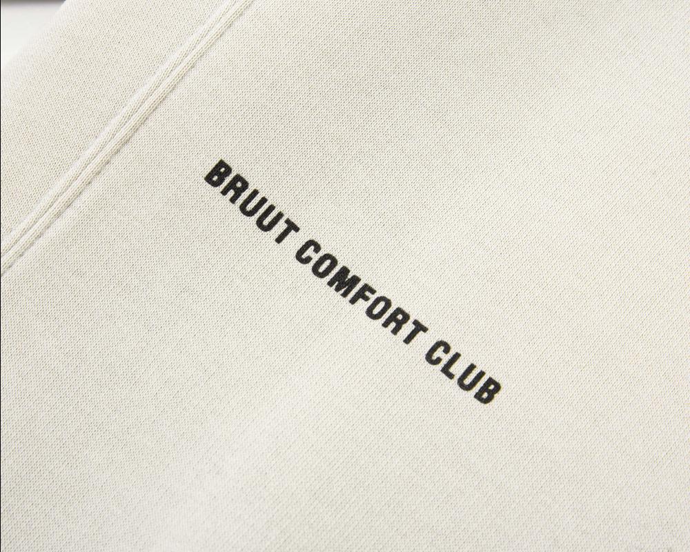 Bruut Comfort Club Hoodie Light Bone