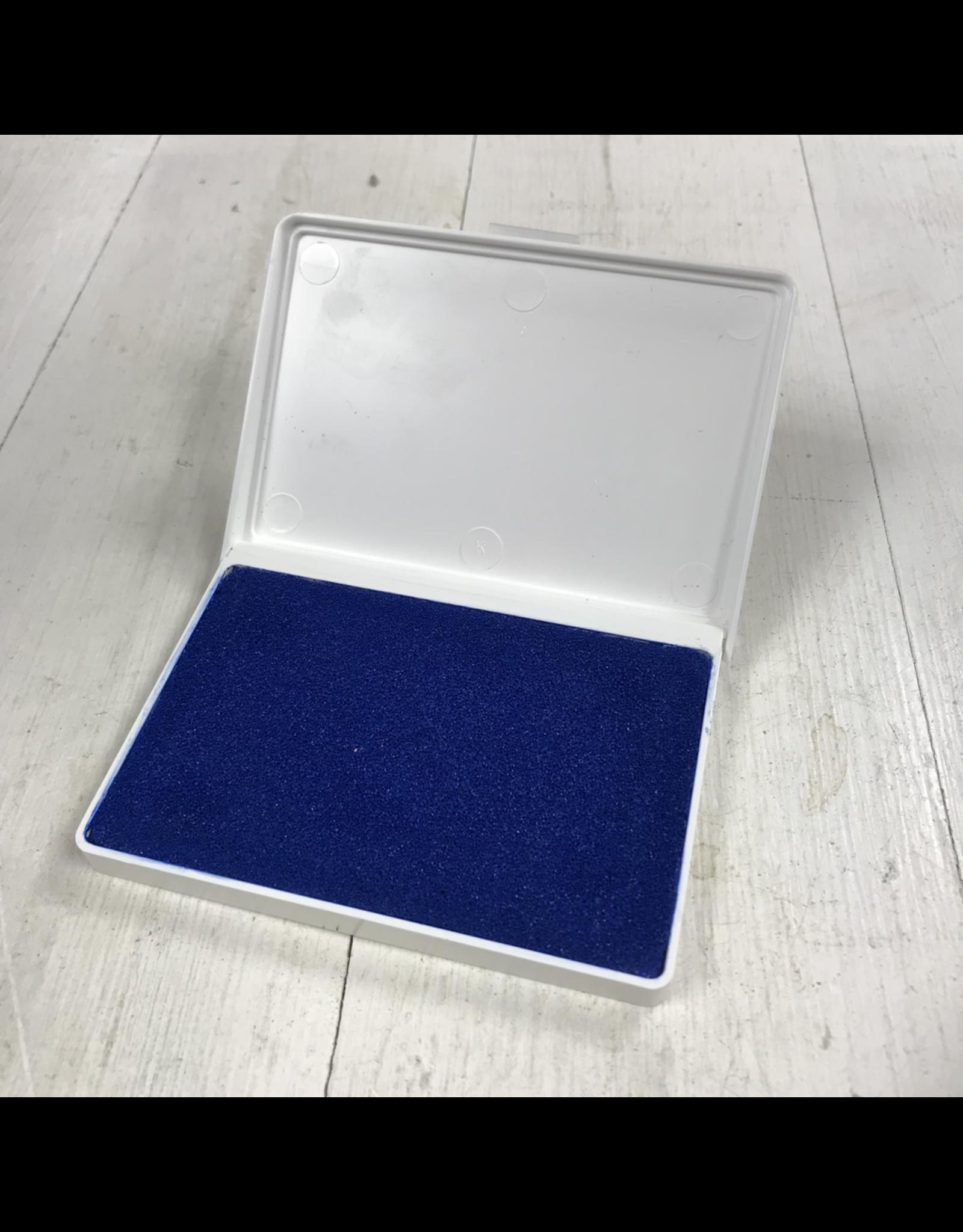 Minnesota clay Potter's Stamp Pad Blue