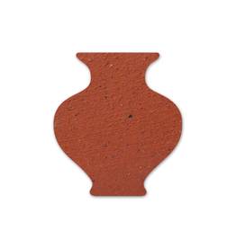 Valentines Red Terracotta casting slip