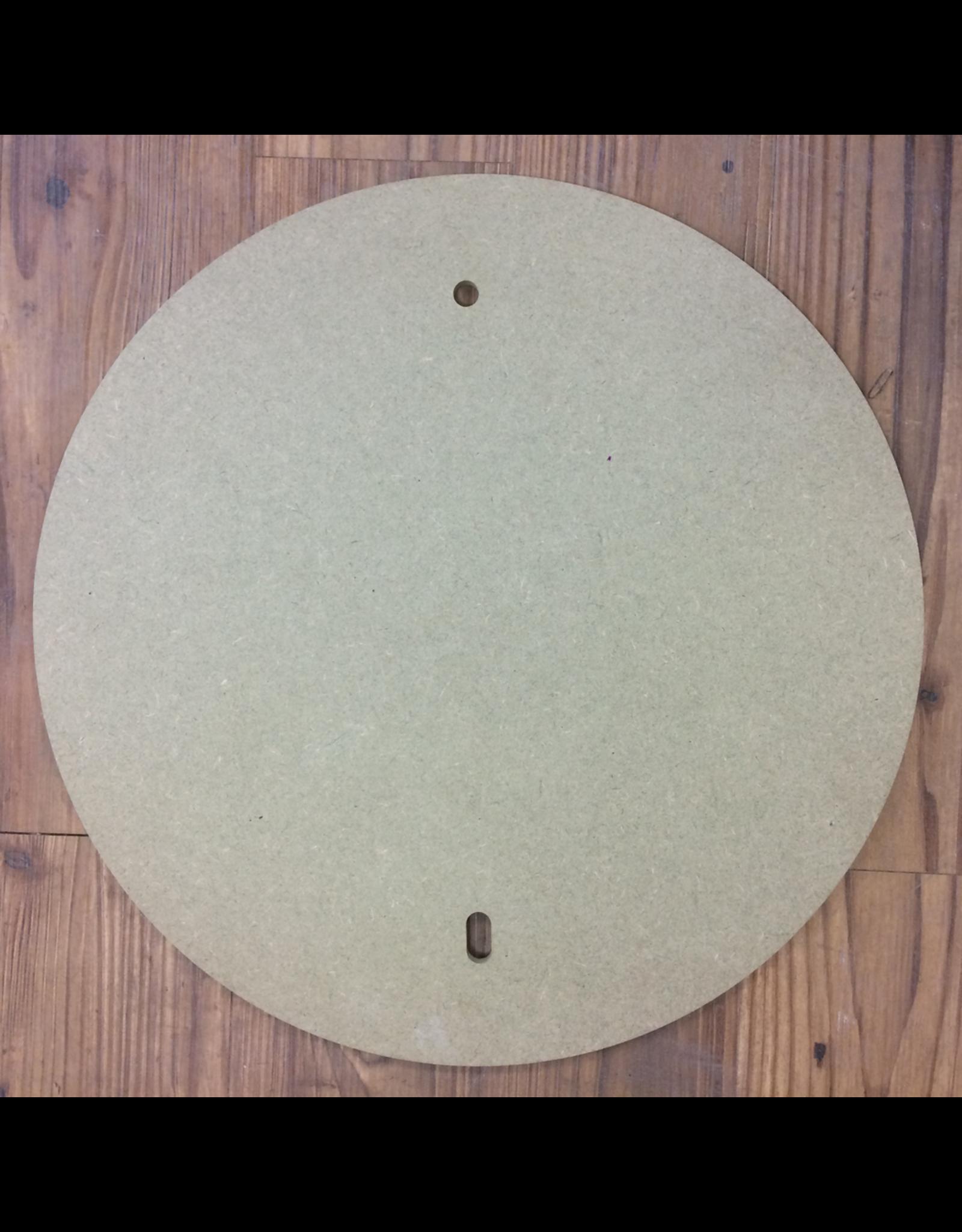 30cm Pre drilled Round MDF Batt