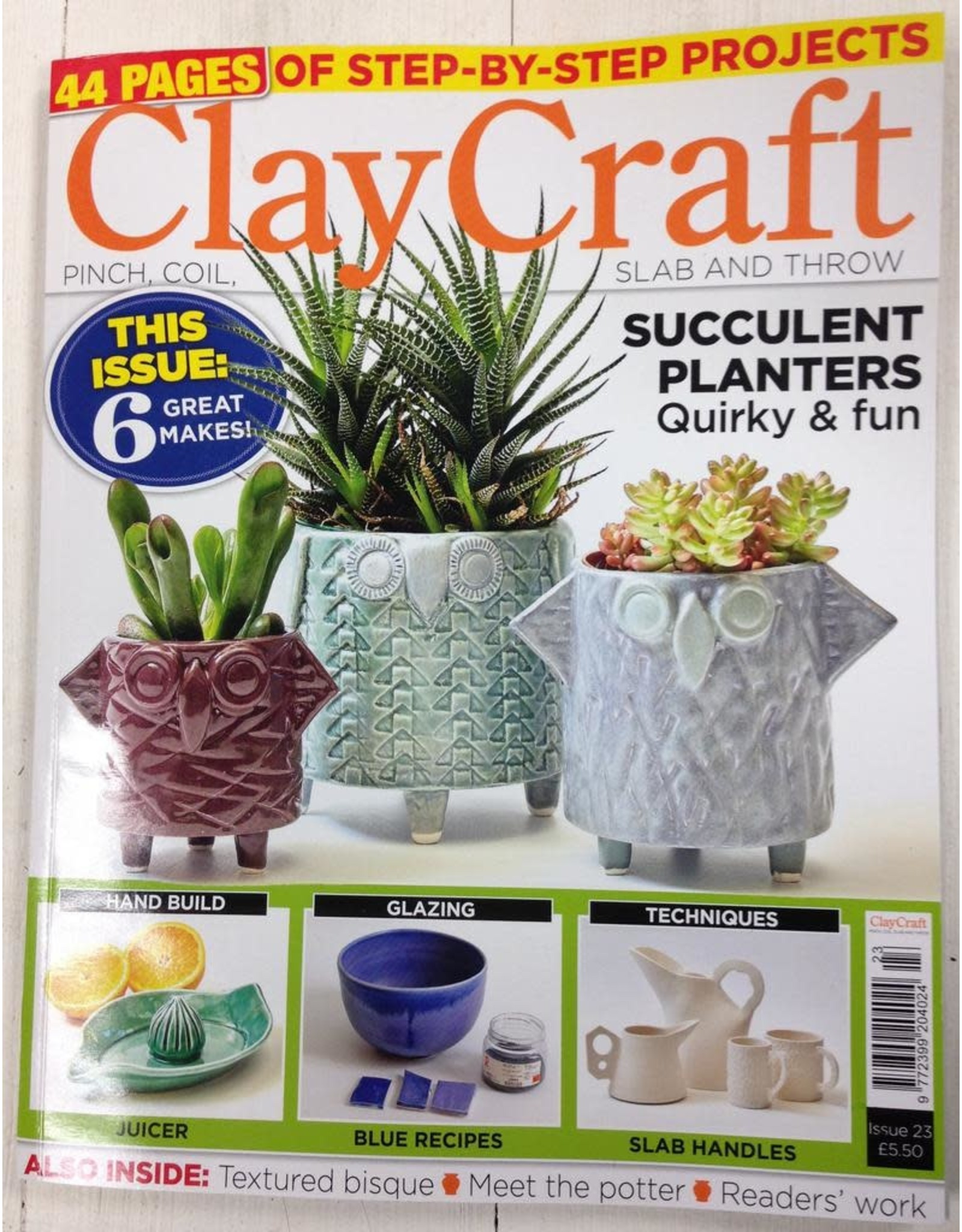 ClayCraft (up to issue 35)
