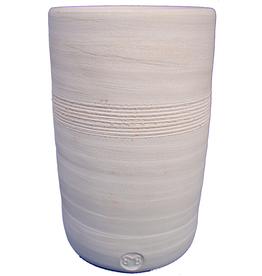 Potclays White earthenware Sanded
