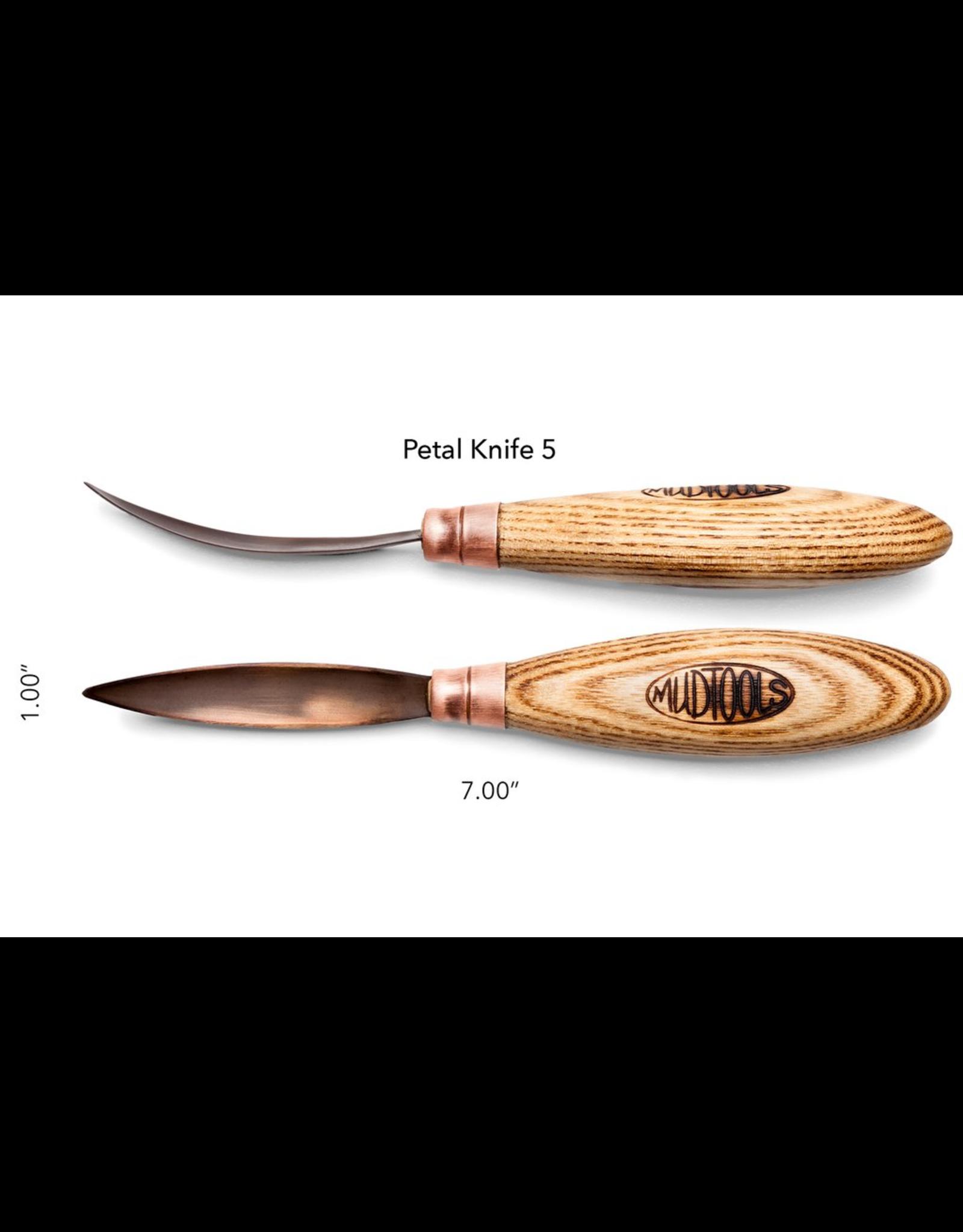 Mudtools Petal Knife (blade 5)