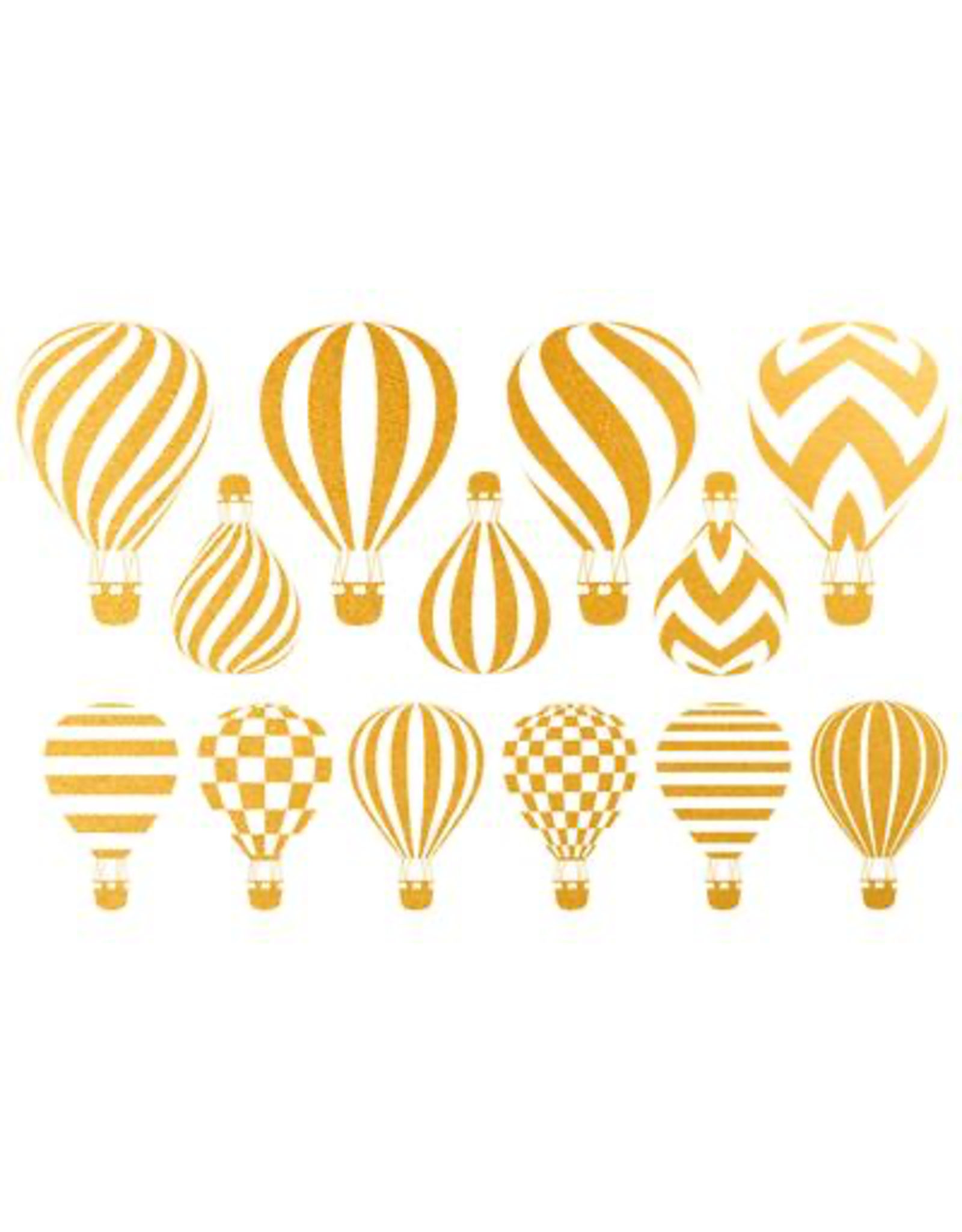 Sanbao Gold Hot Air Balloon