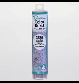Duncan Purple Blaze Colour Burst Crystal Chips