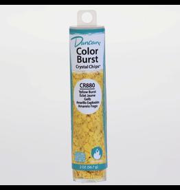 Potterycrafts Duncan Colour Burst Crystal Chips Yellow Burst