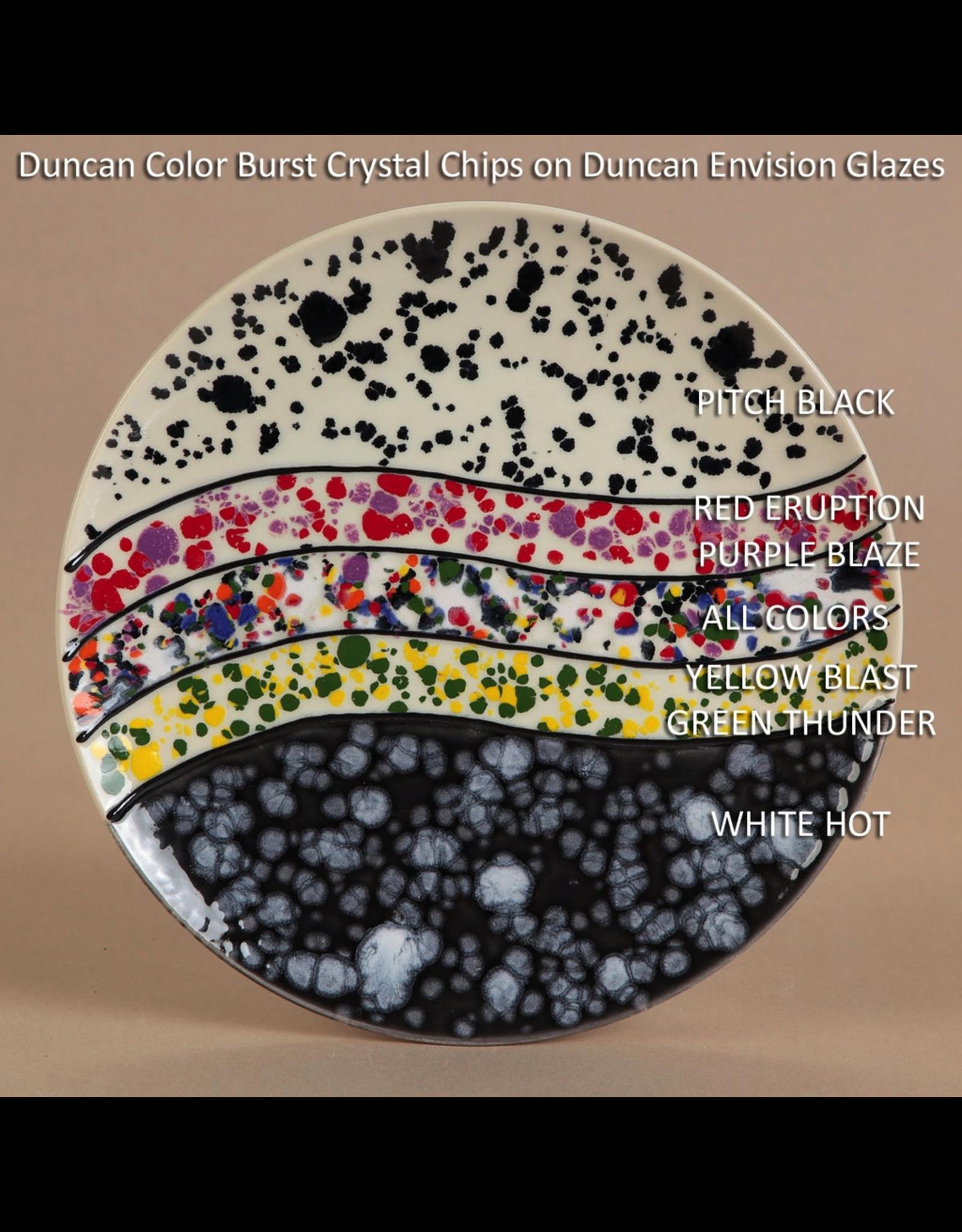 Duncan Yellow Burst Colour Burst Crystal Chips