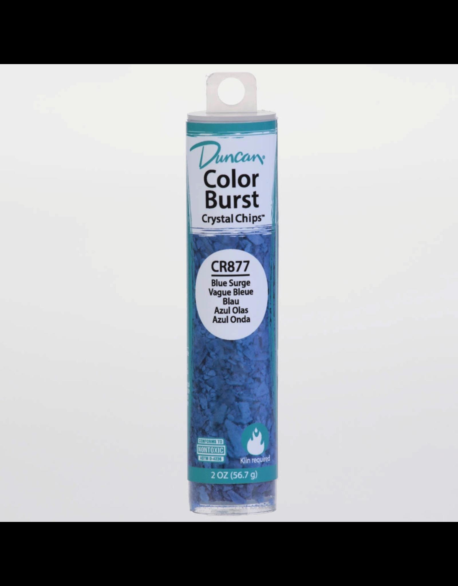 Duncan Blue Surge Colour Burst Crystal Chips