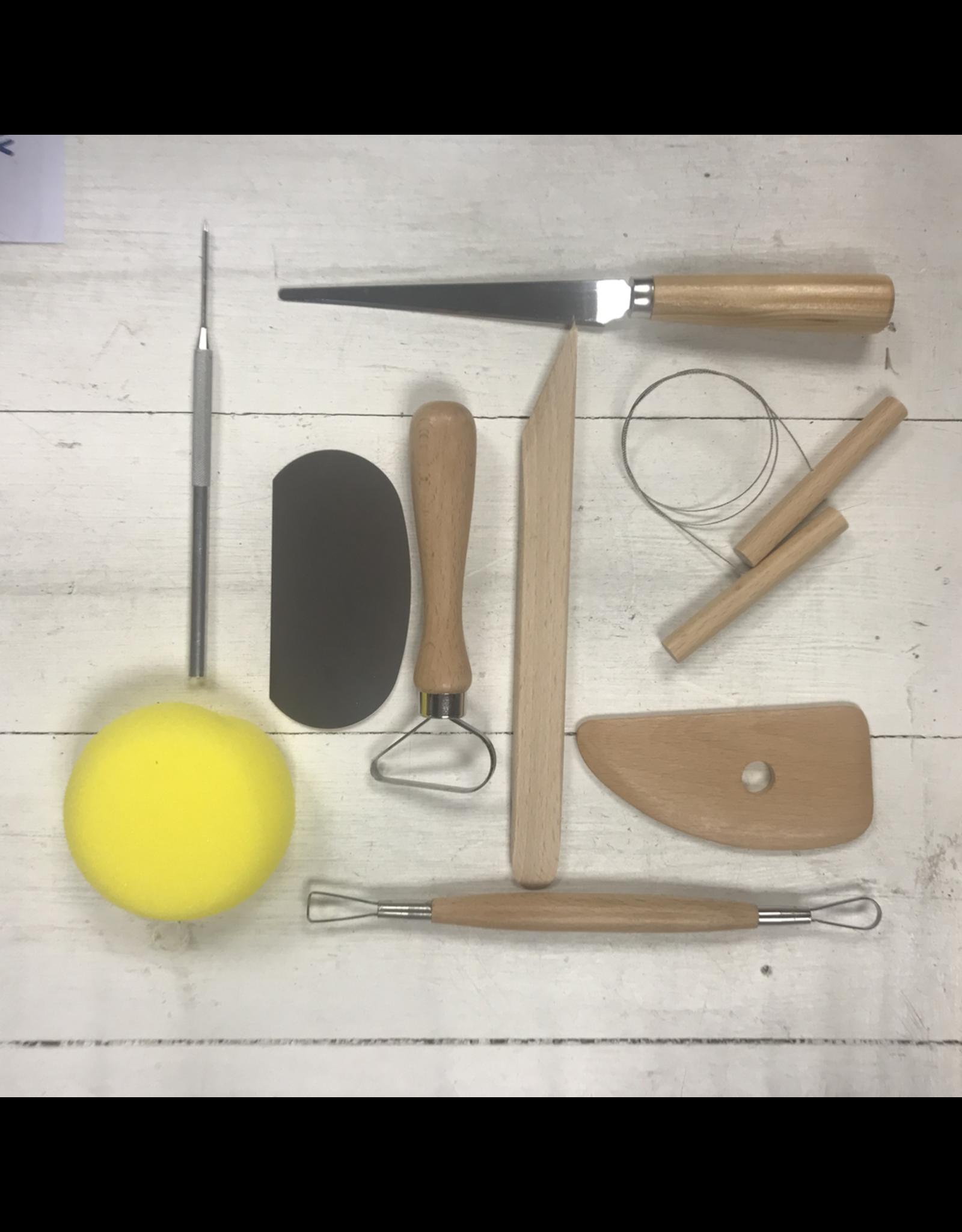 Pottery Tool Kit (9 pcs)