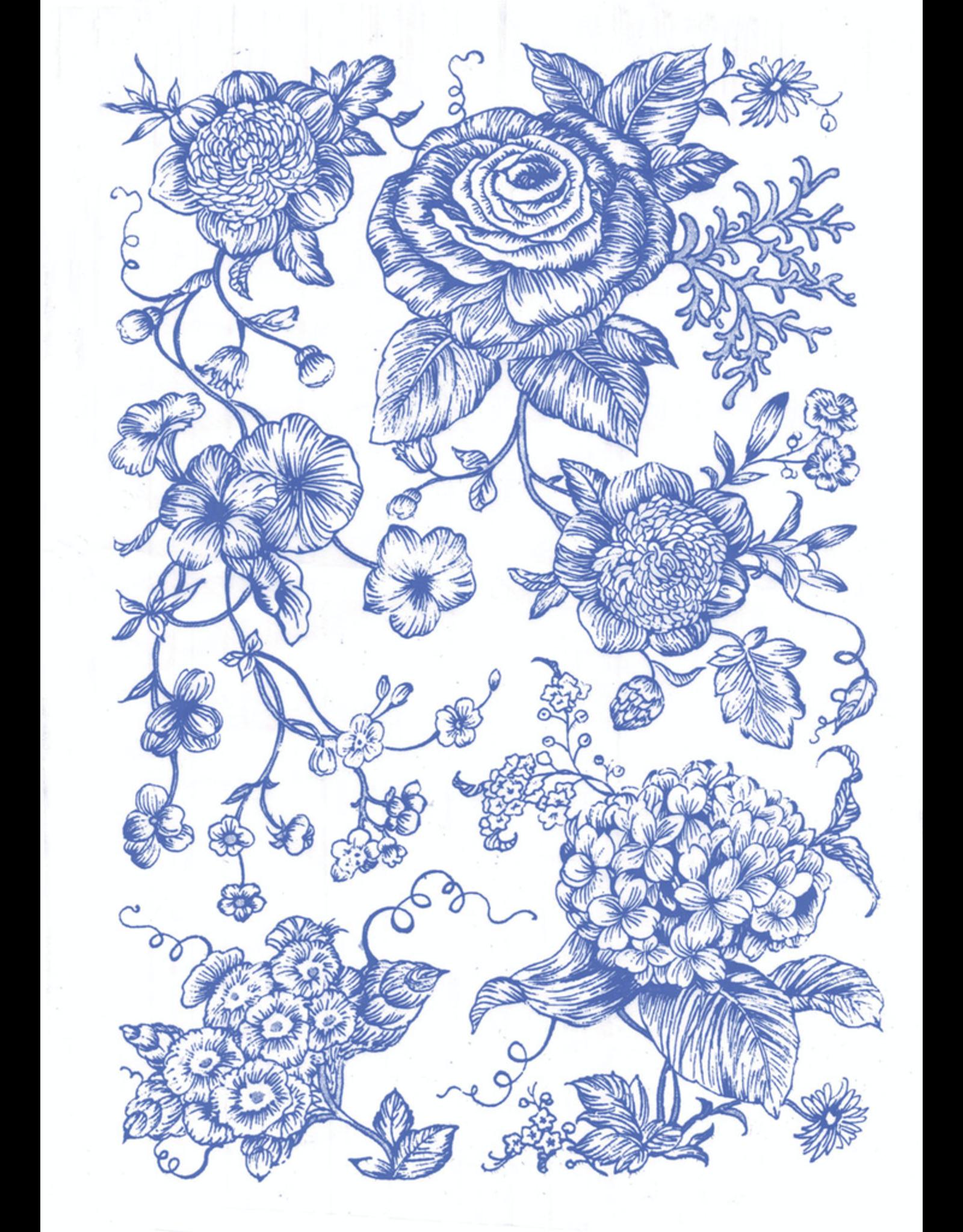 Sanbao Flower decal 17