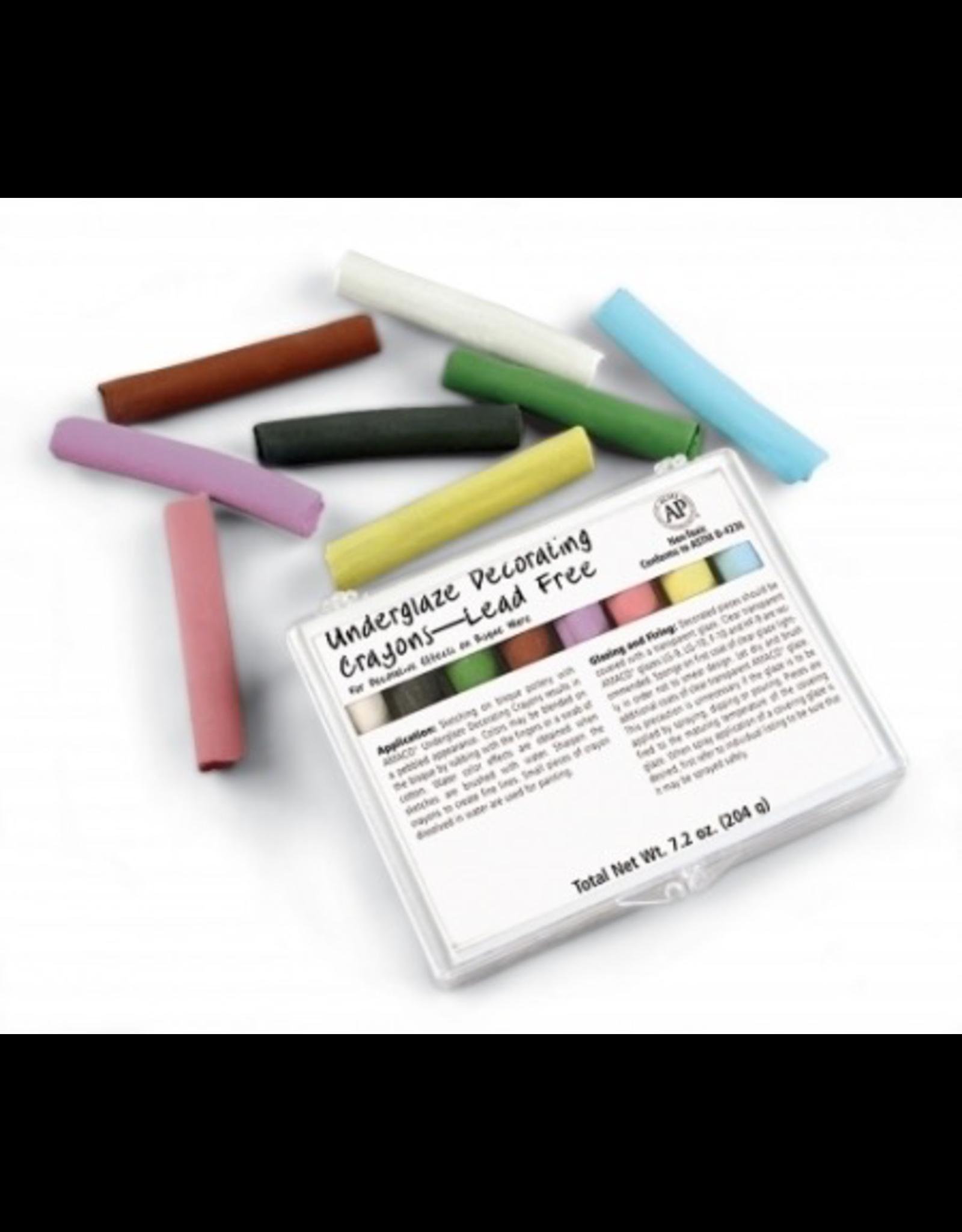 Underglaze Chalk Crayons Set 208