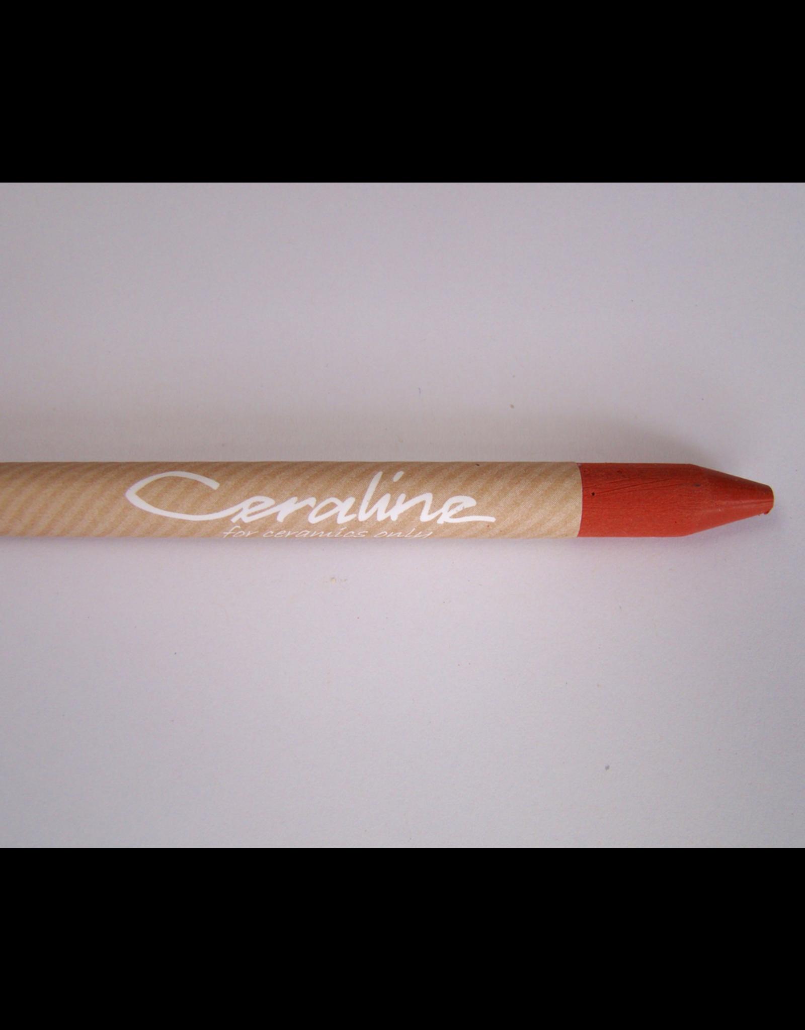 Ceraline Stoneware Crayon Red