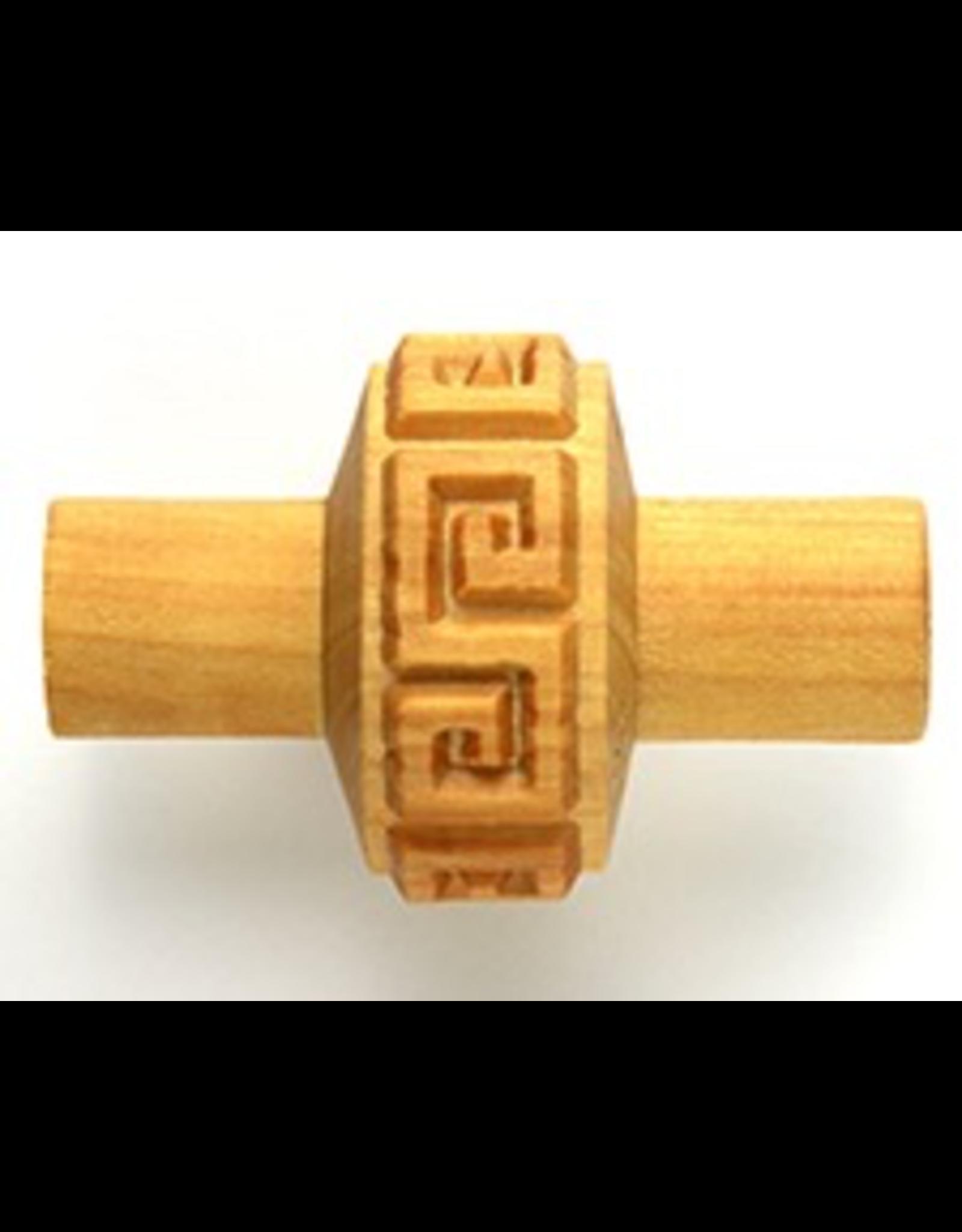 MKM tools Impressed Greek key pattern roller