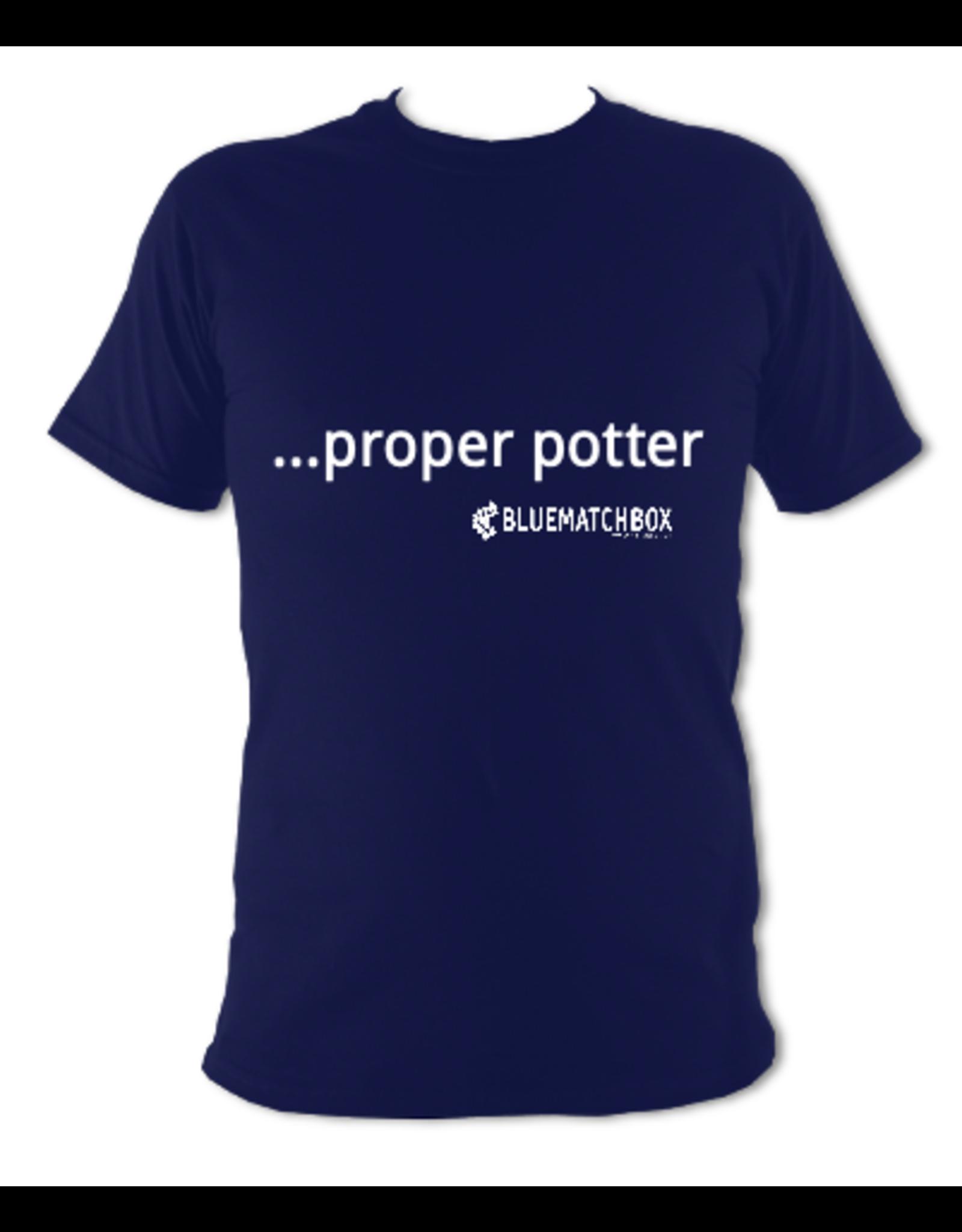 Proper Potter T-Shirt Dark Blue