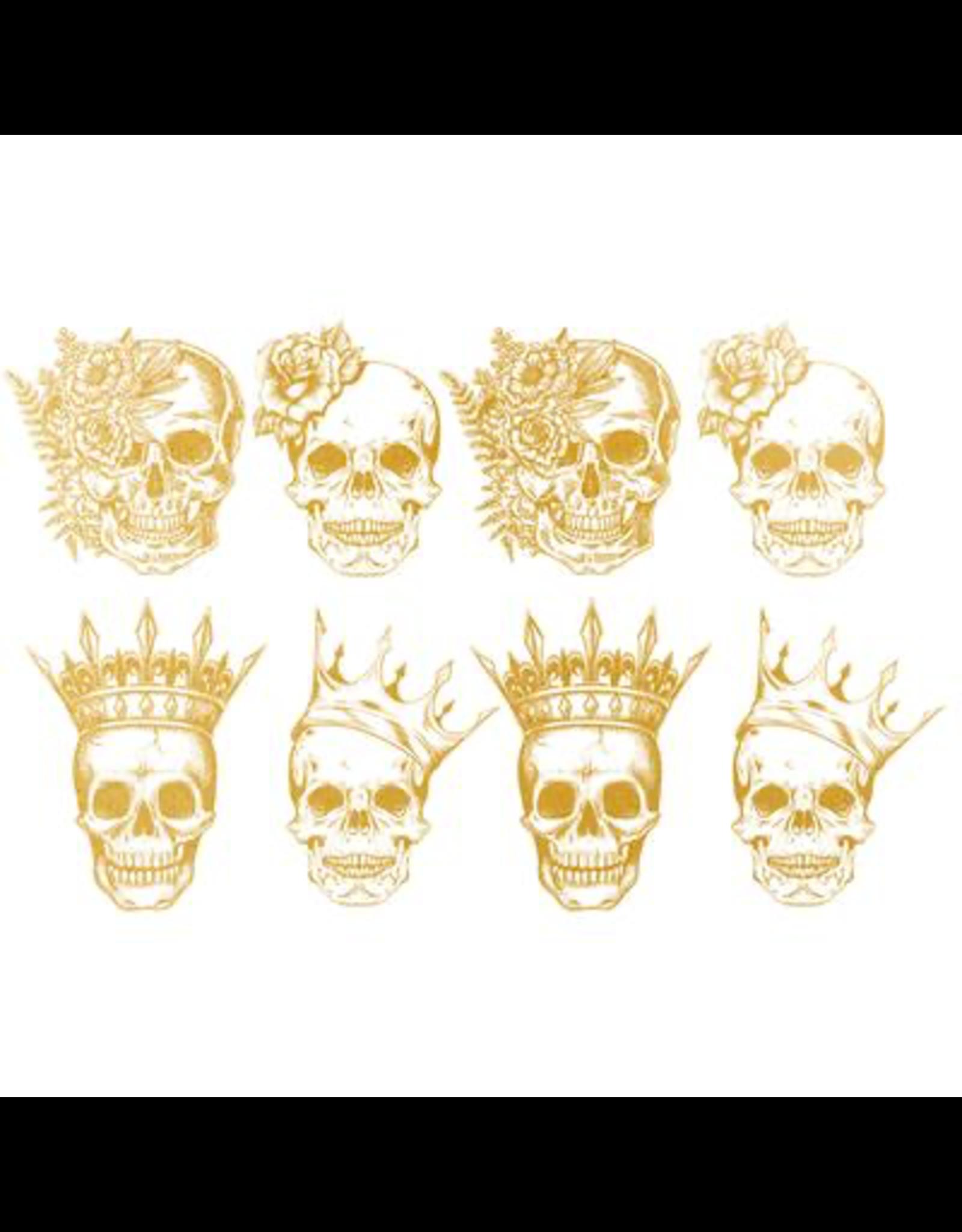Sanbao Gold Skull King & Queen