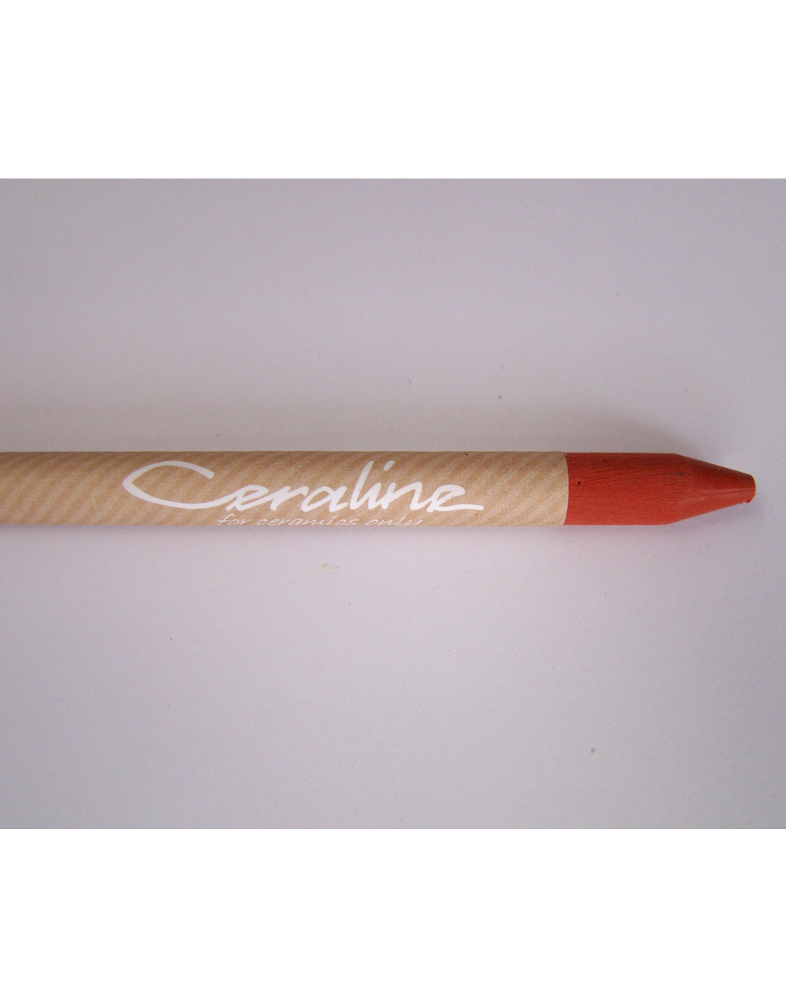 Ceraline Earthenware Crayon Red