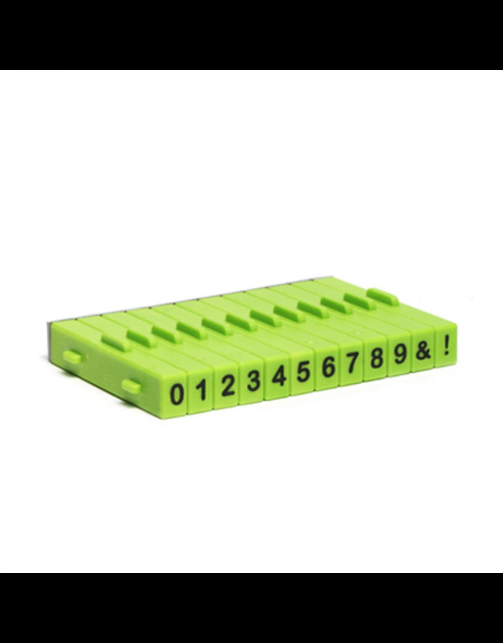 Xiem Number Stamp Set