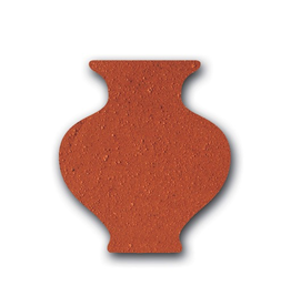 Valentines Standard Red Terracotta Grogged