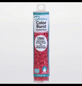 Duncan Red Eruption Colour Burst Crystal Chips