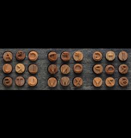 MKM tools Prints charming uppercase Font set