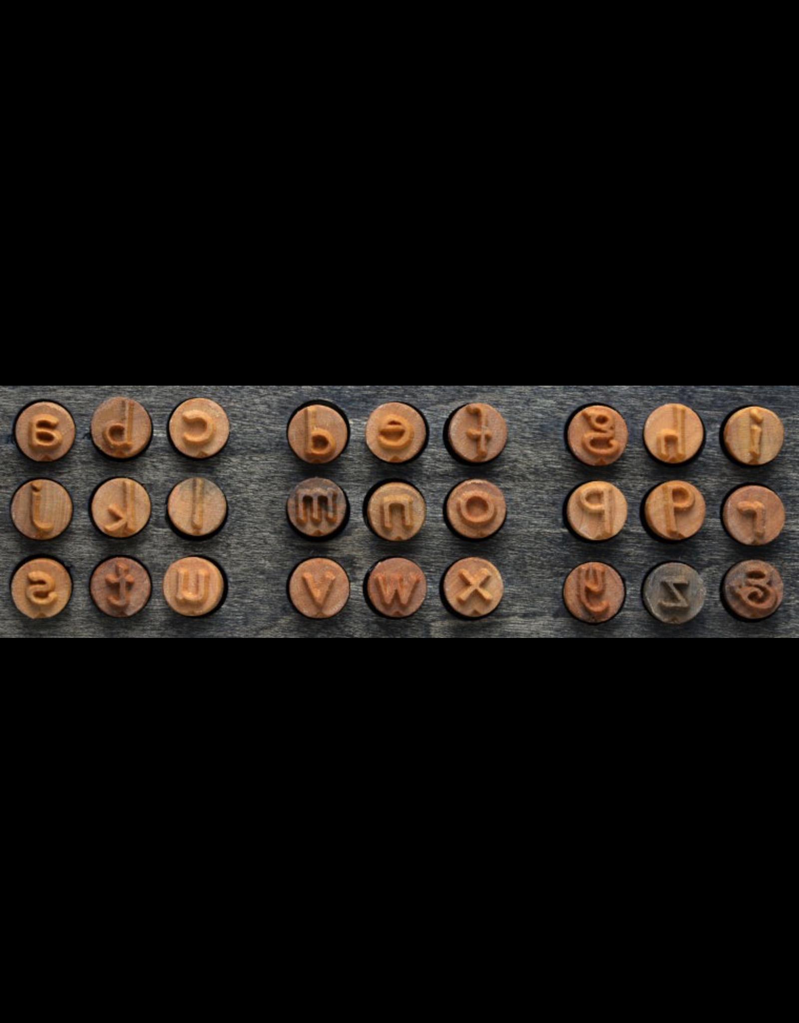 MKM tools Prints charming lowercase Font set