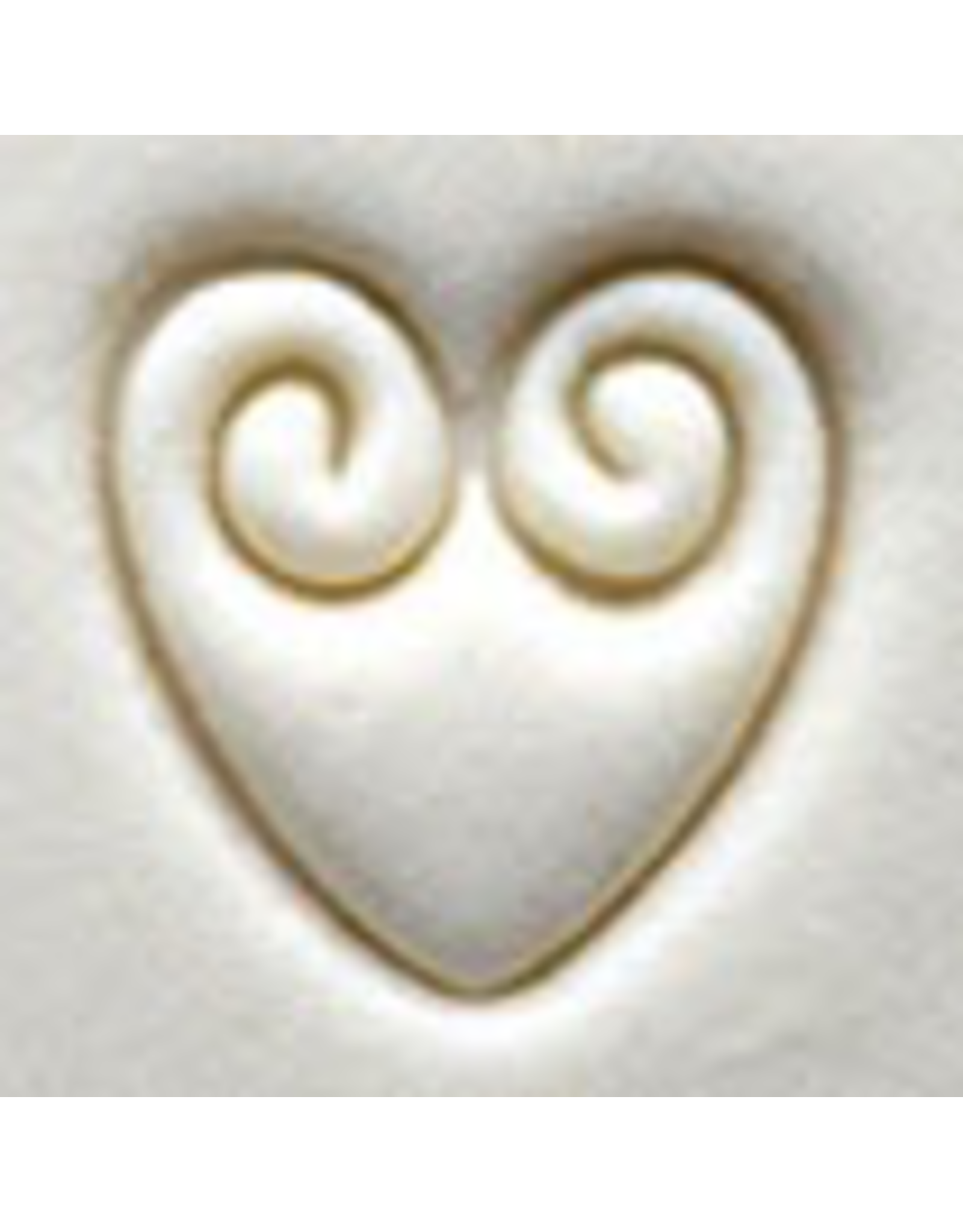 Scrolled Heart Stamp