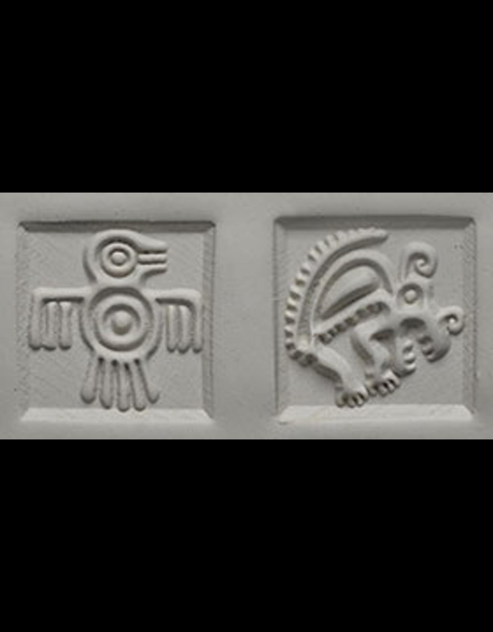 Thunder bird & Armadillo Stamp
