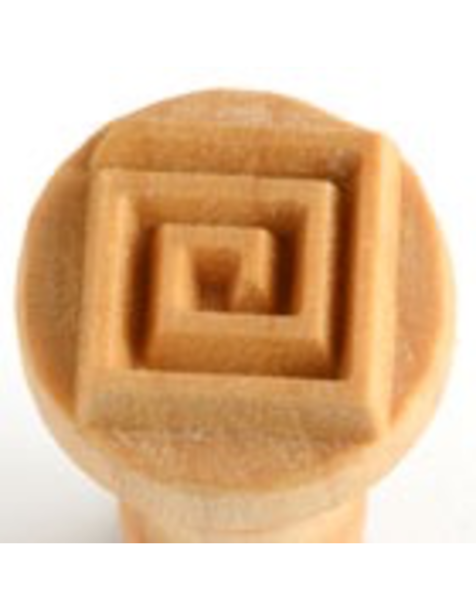 Square Coil stamp (2.5cm)