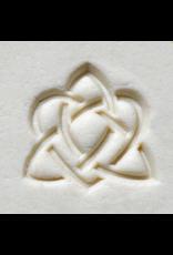 Celtic Sisters stamp (2.5cm)