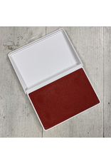 Minnesota clay Potter's Stamp Pad Bright red