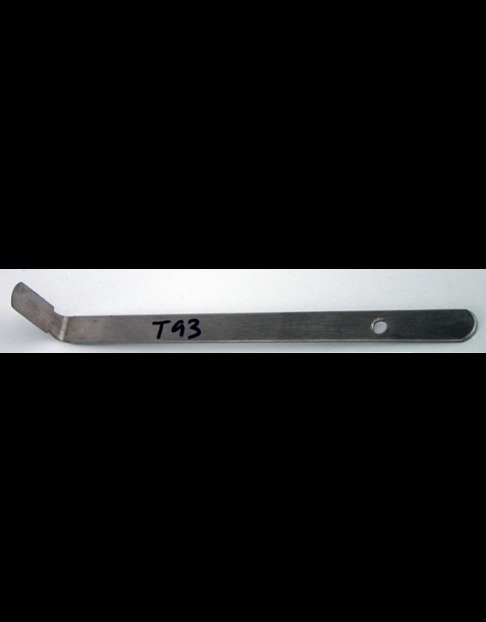 Steel Turning Tool (half round)