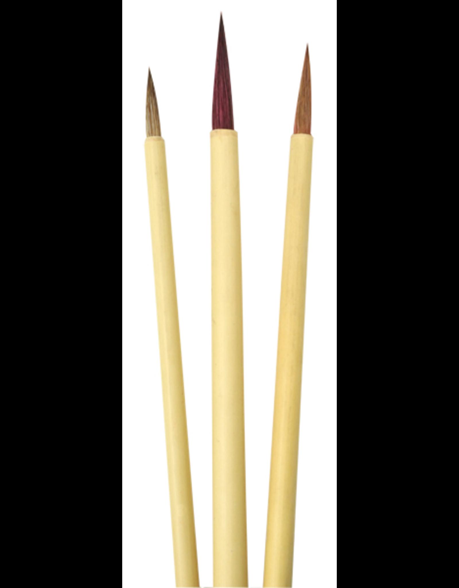 Royal & Langnickel Potter's Select Bamboo set 3