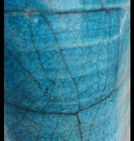 Turquoise Raku/E. Crackle