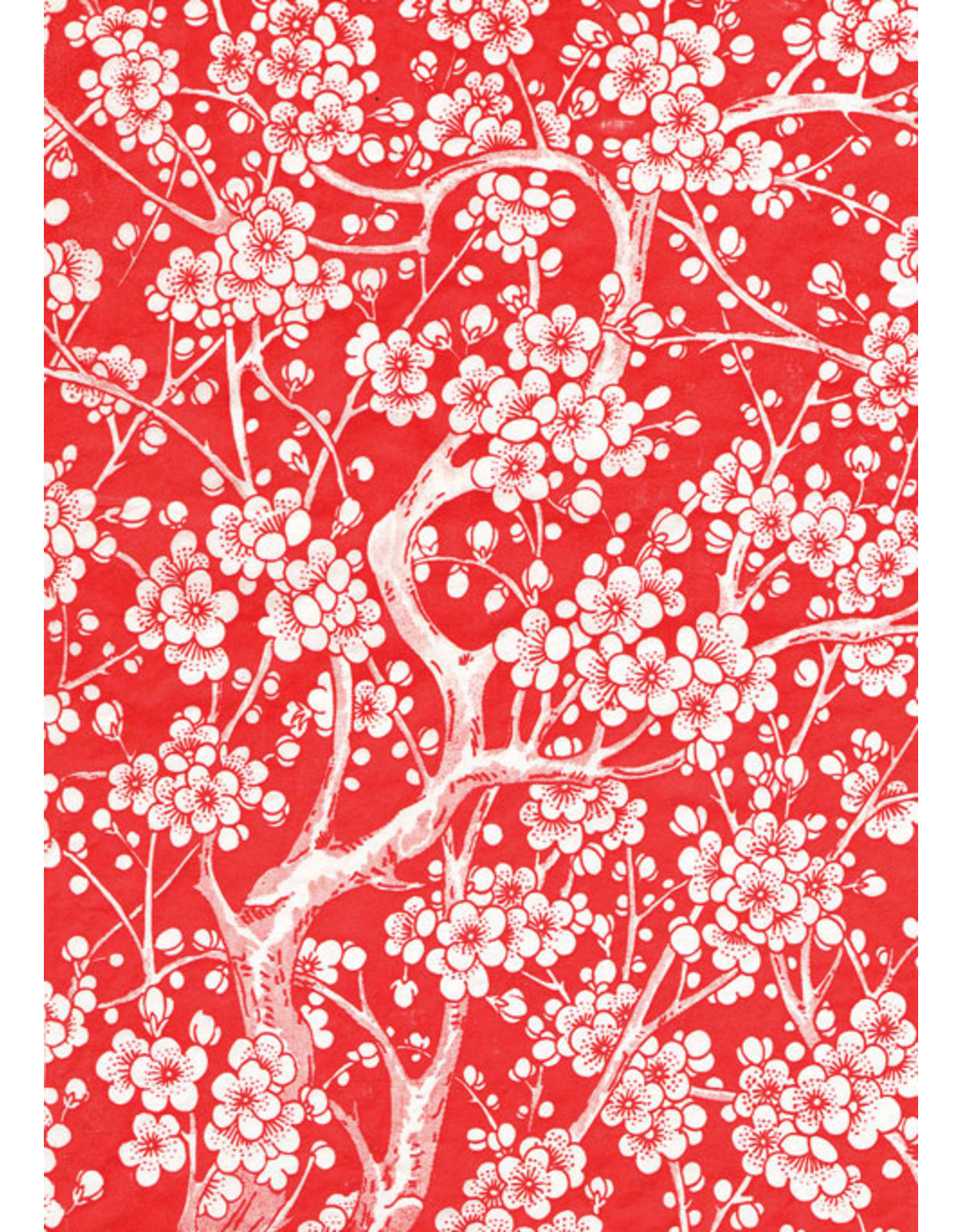 Sanbao Cherry flower decal 2