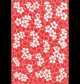 Sanbao Cherry flower decal 4