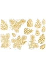 Sanbao Gold Pine Cone